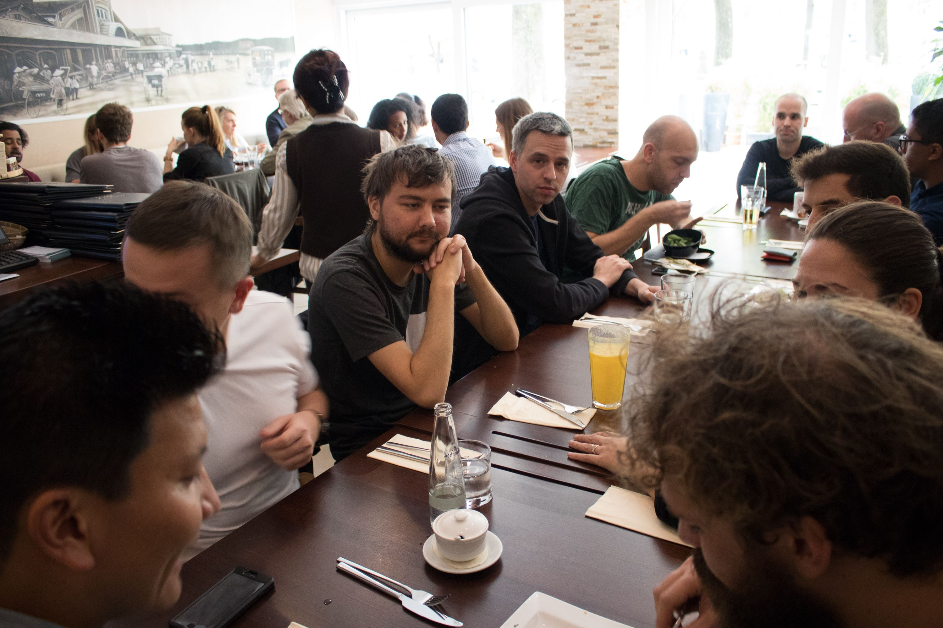 Backend academy lunch